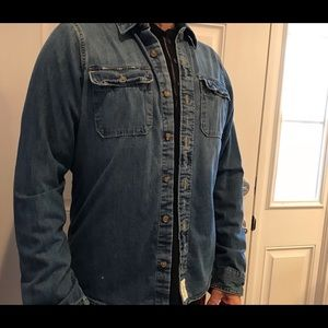 "Abercrombie & Fitch men's ""muscle"" Jean shirt"